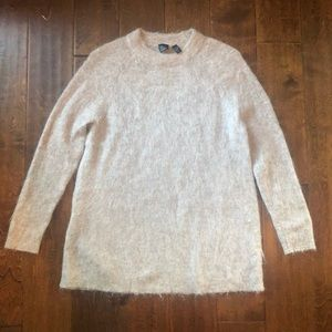 The Fisher Project | Tan Mohair Blend Sweater